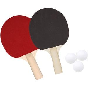 Set tenis de masa BEST SPORTING 822196, 2 palete, 3 mingi, geanta
