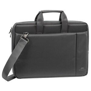 "Geanta laptop RIVACSAE 8231, 15.6"", poliester, gri"