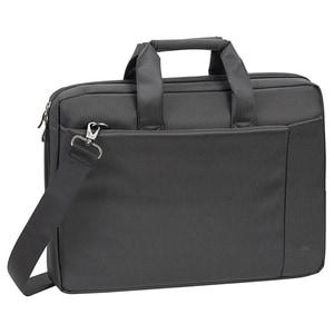"Geanta laptop RIVACSAE 8231, 15.6"", poliester, negru"