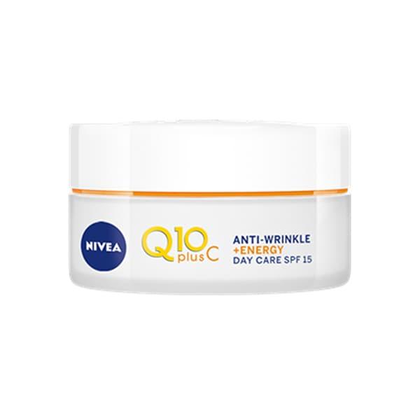 Crema antirid de zi NIVEA Q10 Plus C, 50ml