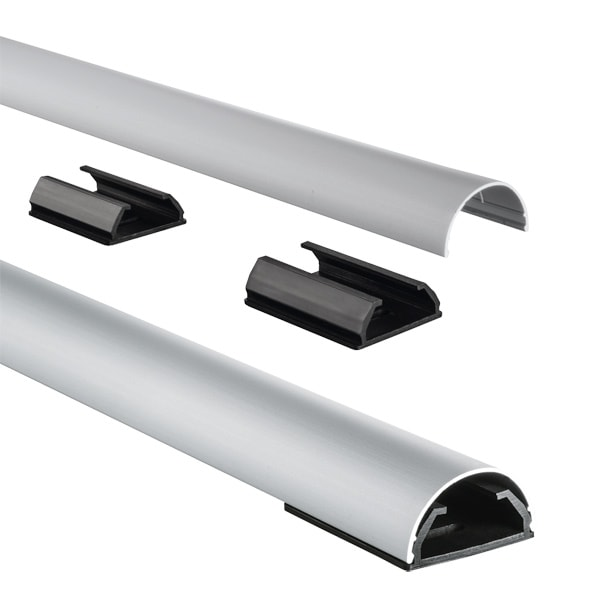 Canal pentru organizare cabluri HAMA 83171, 1.1 m, argintiu