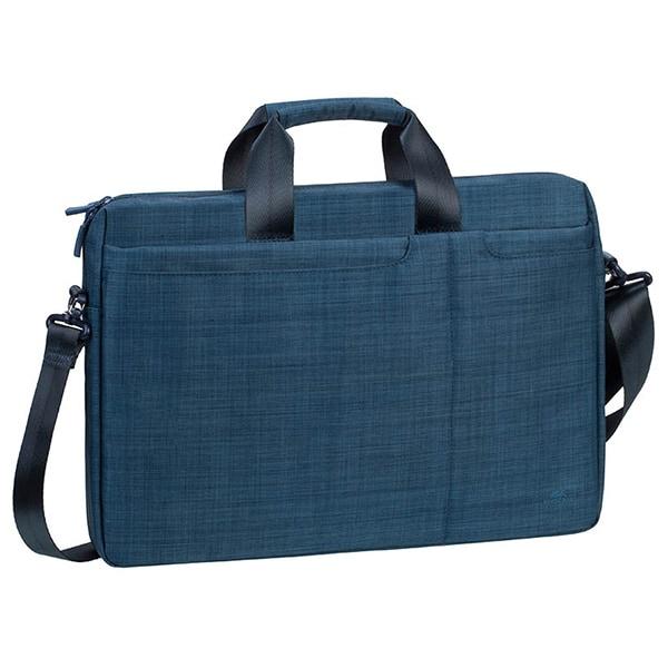 """Geanta laptop RIVACASE 8335, 15.6"""", poliester, albastru"""