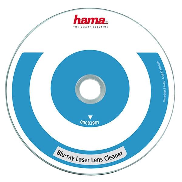 Blu-ray cleaner cu lentile laser HAMA 83981