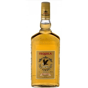 Tequila Tres Sombreros Tequila Gold 38%, 0.7L