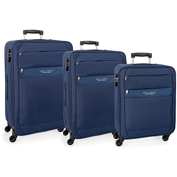 Set trolere ROLL ROAD Abey 5079423, 55-68-78 cm, 3 buc, albastru