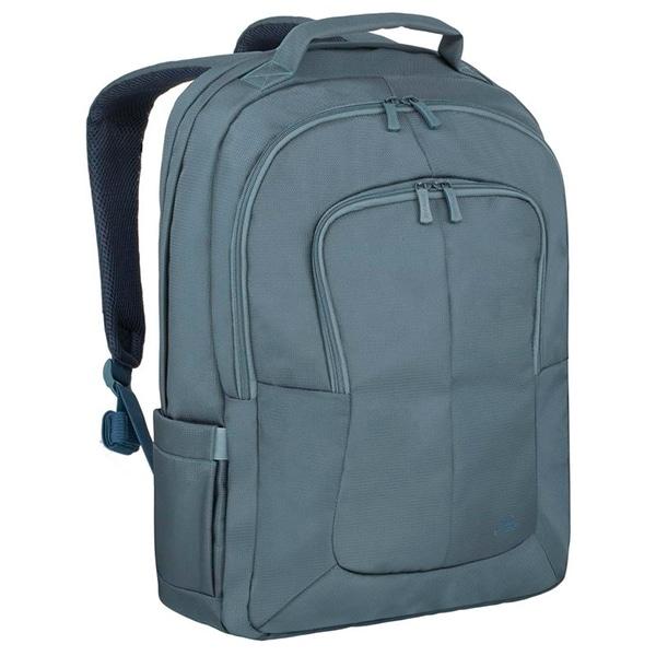 "Rucsac laptop RIVACASE 8460, 17.3"", poliester, aquamarine"