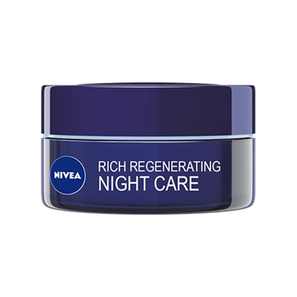 Crema de noapte NIVEA Rich Regenerating, 50ml