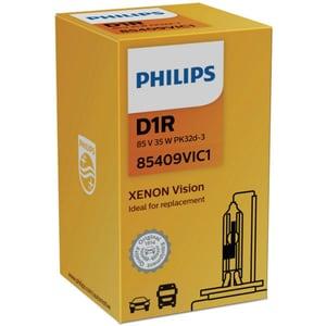 Bec auto xenon pentru far PHILIPS Vision, D1R, 85V, 35W, PK32D-3, 1 bucata