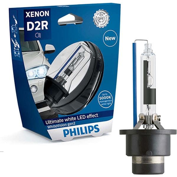 Bec auto Xenon PHILIPS Whitevision, D2R, 85V, 35W