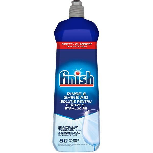 Solutie de clatire pentru masina de spalat vase FINISH, 800ml