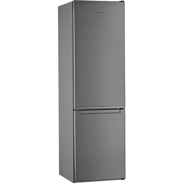 Combina frigorifica WHIRLPOOL W5 921E OX, Direct Cool, 372 l, 201.1 cm, Clasa E, inox