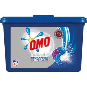 Detergent capsule OMO Ultimate ActiveClean, 40 capsule