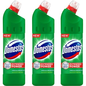 Pachet dezinfectant DOMESTOS Trio, 750ml