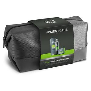 Set cadou Dove Men+Care Extra Fresh: Gel de dus, 250ml + Deodorant spray, 150ml + Sapun solid, 90g
