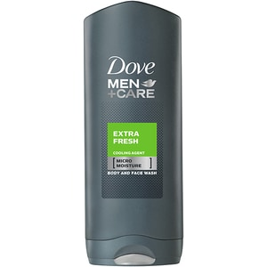 Gel de dus 2 in 1 DOVE Care Extra Fresh, pentru barbati, 250ml