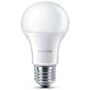 Bec LED PHILIPS 8718696490846, 11W, E27, 2700K, alb cald