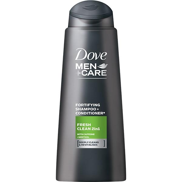 Sampon 2in1 DOVE Men+Care Fresh Clean, 250ml