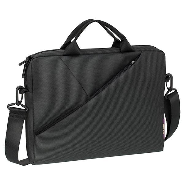 "Geanta laptop RIVACSAE 8720, 13.3"", poliester, gri"