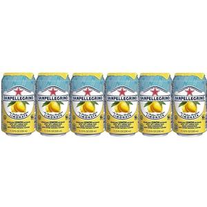 Bautura racoritoare carbogazoasa SAN PELLEGRINO Limonata bax 0.33L x 6 cutii