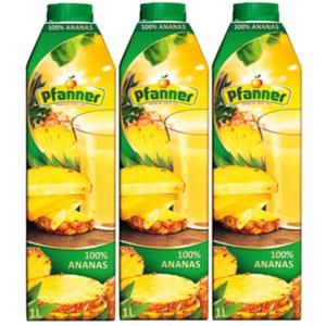Bautura racoritoare necarbogazoasa PFANNER Ananas 1L x 3 cutii