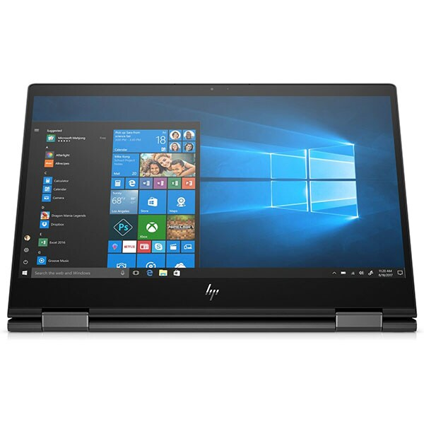 "Laptop 2 in 1 HP Envy X360 13-ar0025nn, AMD Ryzen 7 3700U pana la 4GHz, 13.3"" Full HD Touch, 16GB, SSD 512GB, AMD Radeon RX Vega 10, Windows 10 Home, negru"