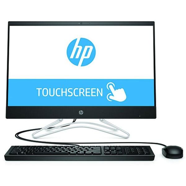 """Sistem PC All in One HP 24-f0036nq, Intel Core i7-9700T pana la 4.3GHz, 23.8"""" Full HD Touch, 8GB, SSD 256GB, NVIDIA GeForce MX110 2GB, Free Dos, negru"""