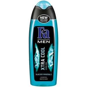 Gel de dus 2 in 1 FA Men Xtra Cool, 250ml