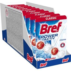 Odorizant toaleta BREF Power Aktiv Chlorine, 10 x 50g