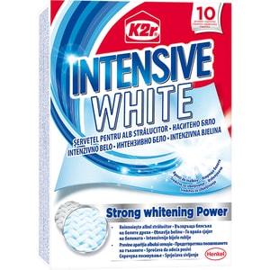 Servetele anti-transfer pentru rufe K2R Intensive White, 10 buc