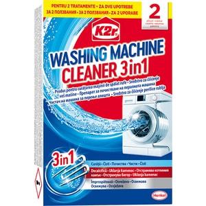 Aditiv pentru spalare K2R Washing Machine Cleaner, 2 spalari