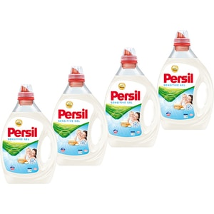 Detergent lichid PERSIL Sensitive Gel, 4 x 2l, 160 spalari