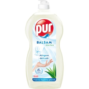 Detergent de vase PUR Balsam Aloe Vera, 1350 ml
