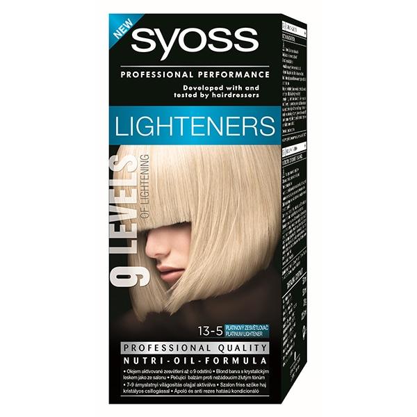 Vopsea de par SYOSS Color Bl, 13-5 Decolorant Platinum, 115ml