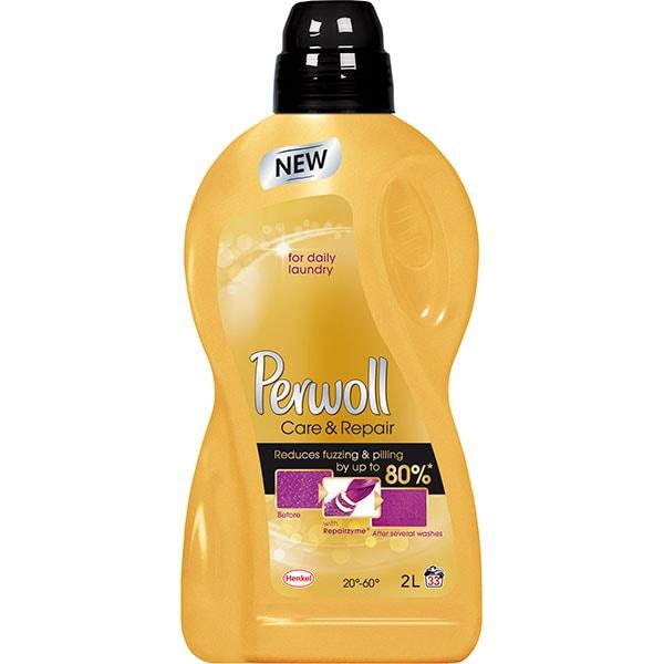 Detergent lichid PERWOLL Gold Care & Repair, 2l, 33 spalari