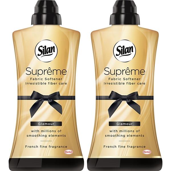 Balsam de rufe SILAN Supreme Glamour, 2 x 1.2l, 96 spalari