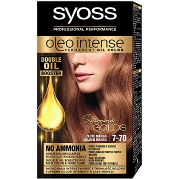Vopsea de par SYOSS Color Oleo, 7-70 Golden Mango, 115ml