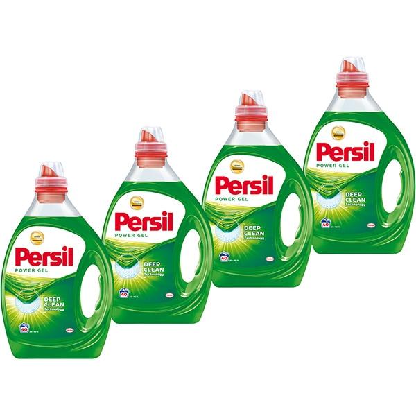 Detergent lichid PERSIL Power Gel, 4 x 2l, 160 spalari