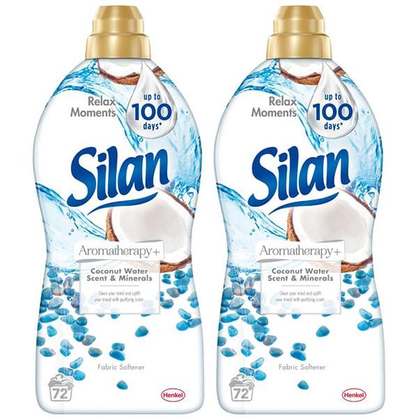 Balsam de rufe SILAN Aromatherapy+ Coconut Minerals, 2 x 1.8l, 148 spalari