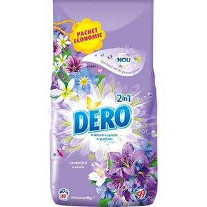 Detergent automat DERO 2 in1 Levantica, 8kg, 80 spalari
