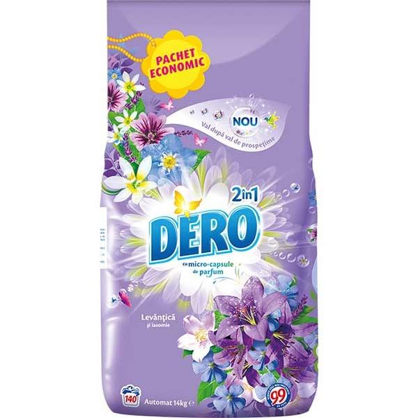 Detergent automat DERO 2 in1 Levantica, 14kg, 140 spalari