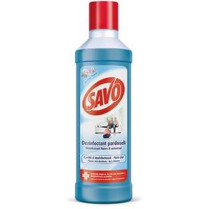 Detergent dezinfectant pentru pardoseli SAVO Spring Fresh, 1l