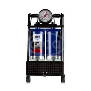 Pompa de picior ALCA 98304, 2 cilindri