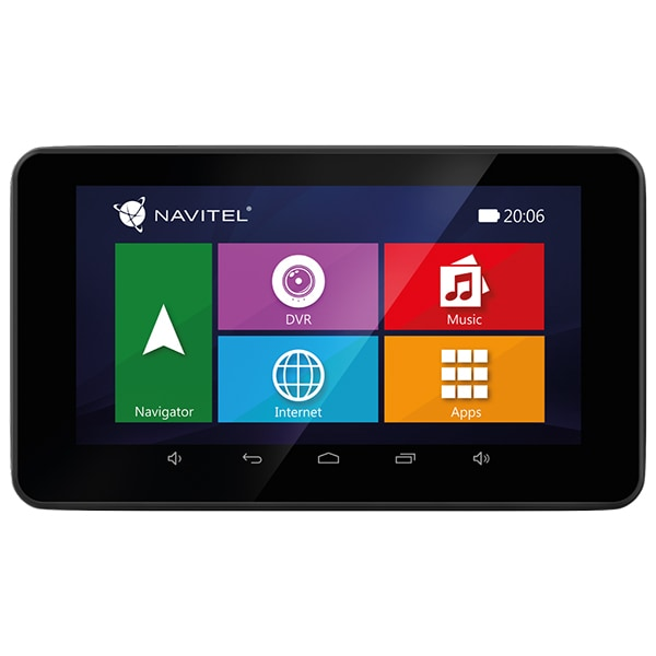 Sistem de navigatie GPS cu Camera Auto DVR NAVITEL RE900, 16 GB, Full Europa, Wi-Fi, Bluetooth, Android