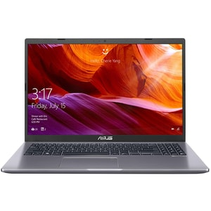 "Laptop ASUS A509FA-BQ365, Intel Core i5-8265U pana la 3.9GHz, 15.6"" Full HD, 8GB, SSD 256GB, Intel UHD Graphics 620, Endless, gri"
