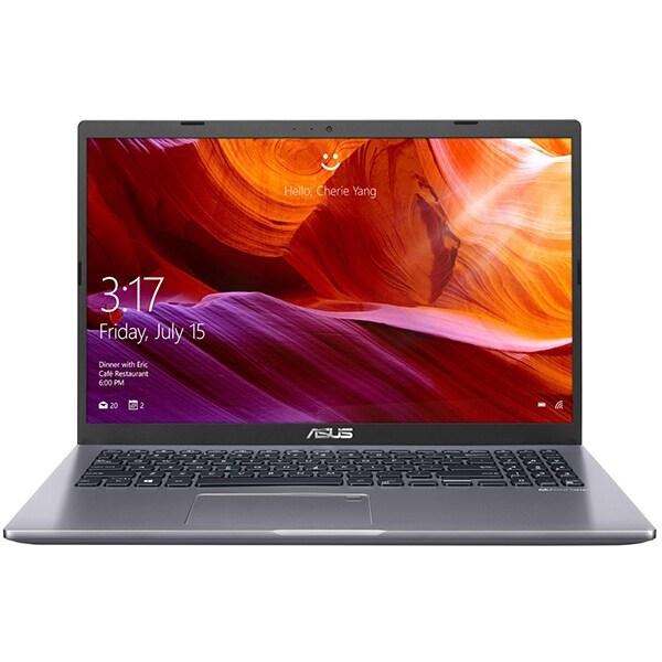 """Laptop ASUS A509FA-BQ365, Intel Core i5-8265U pana la 3.9GHz, 15.6"""" Full HD, 8GB, SSD 256GB, Intel UHD Graphics 620, Endless, gri"""