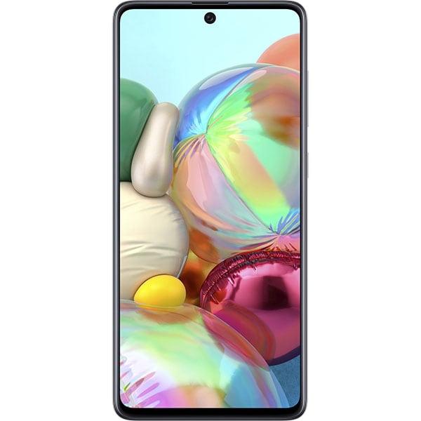 Telefon SAMSUNG Galaxy A71, 128GB, 6GB RAM, Dual SIM, Prism Crush Silver