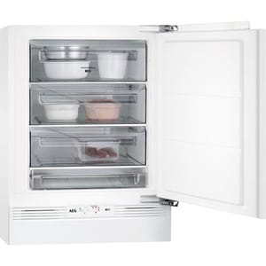 Congelator incorporabil AEG ABB682F1AF, 95 l, H 81.5 cm, Clasa F, alb