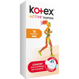 Tampoane KOTEX Active Normal, 16buc