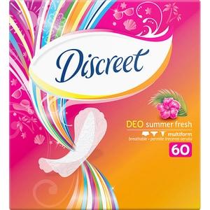 Protej-slip DISCREET Reg Deo Summer Fresh, 60buc
