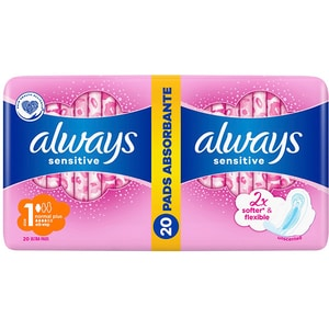 Absorbante ALWAYS Sensitive Normal Plus, 20buc